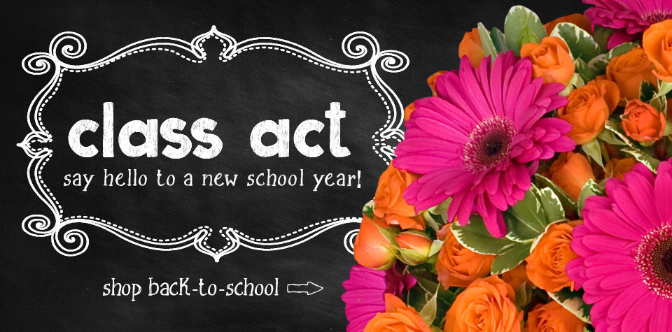 Back to school flowers and gifts in Austin, TX