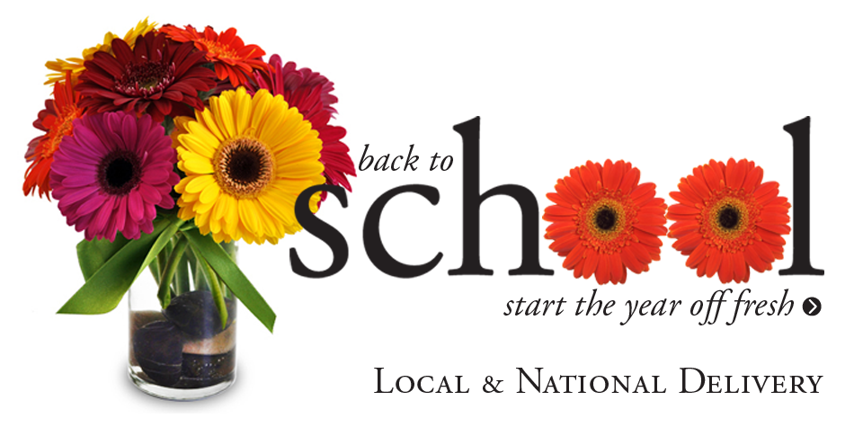 Shop Back to School flowers and gifts for Teacher from Freytag's Florist