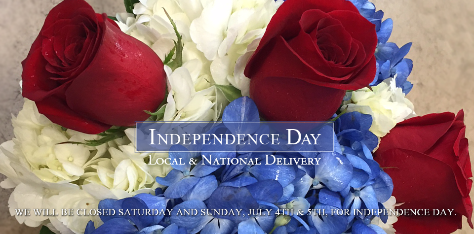 4th of July Flowers for Independence Day from Freytag's Florist, Austin TX