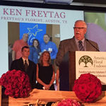"Ken Freytag Of Freytag's Florist is Recipient Of 2015 Tom Butler ""Floral Retailer Of The Year"" Award"